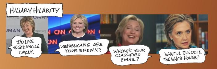 Hillary Hilarity