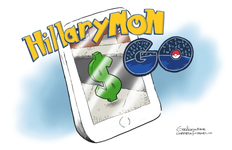 HillaryMon Go Pokemon