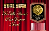 Vote Now Paul Revere Award