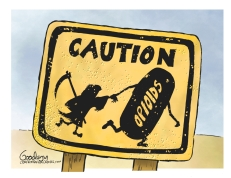 Caution lr