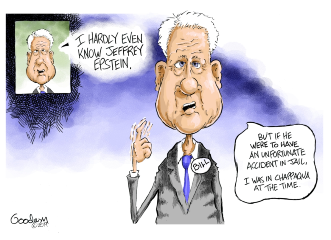 Image result for epstein and the media cartoons