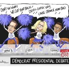 goodwyn DNC Cheerleaders vlr 8-1-19